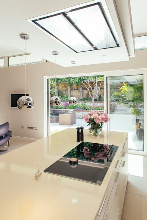 Broomhill Extension 04: modern Kitchen by George Buchanan Architects