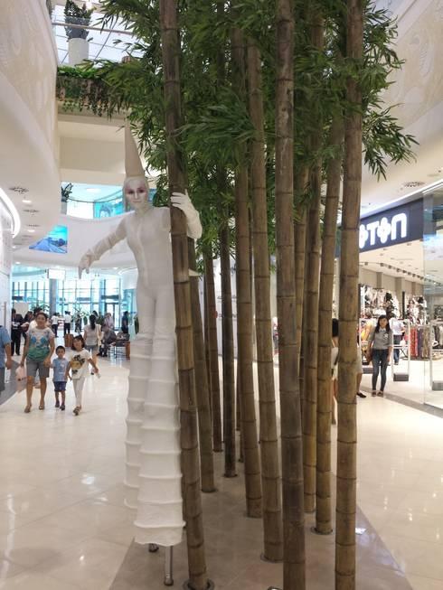 new forms of live: Centres commerciaux de style  par mb architects