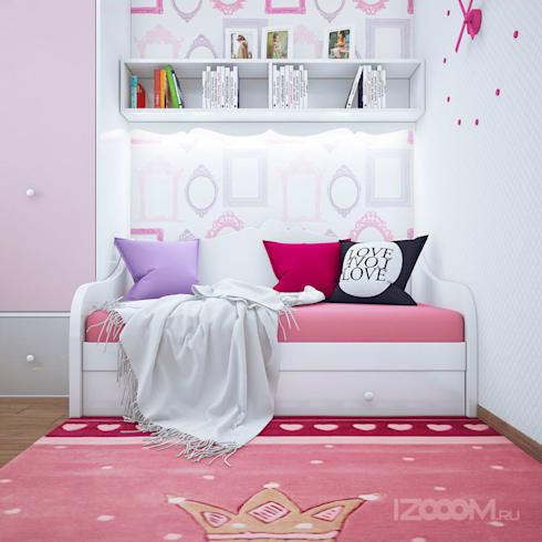 подборка детских комнат: Детские комнаты в . Автор – izooom