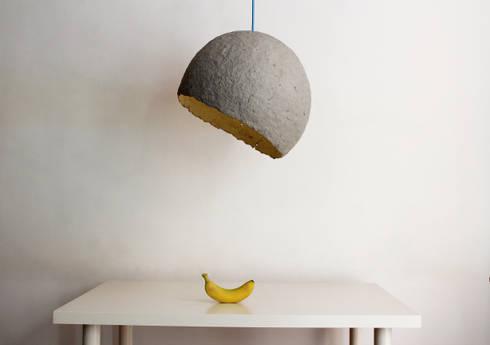 Lampade scultura in ei issey miyake by artemide channel con