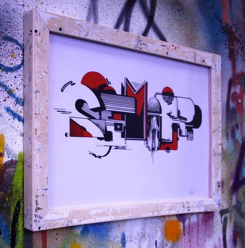 Upcycling Skateframes - Bilderrahmen aus verschlissenen Skateboards :  Wände & Boden von Colourform