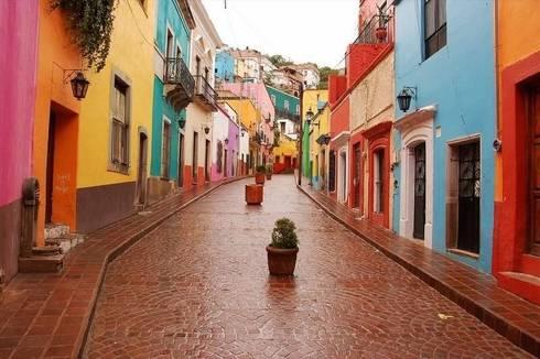 Pueblo Mágico - México: Casas de estilo rural por Ingrid_Homify