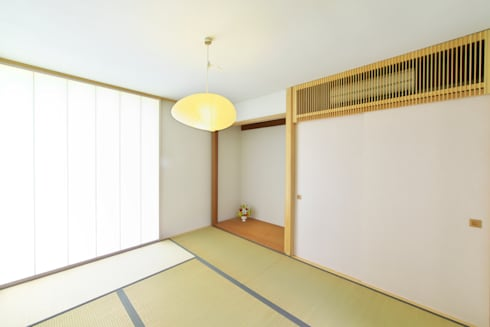 奥田の家: 五藤久佳デザインオフィス有限会社が手掛けた和室です。