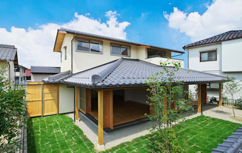 岩倉の家: 五藤久佳デザインオフィス有限会社が手掛けた家です。
