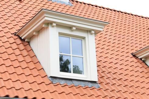 Detail geven een woonhuis cachet: landelijke Huizen door Arceau Architecten B.V.