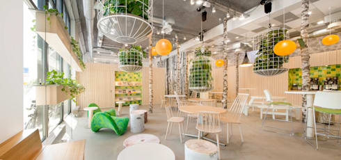 de plantenkooien:  Kantoorgebouwen door CUBE architecten