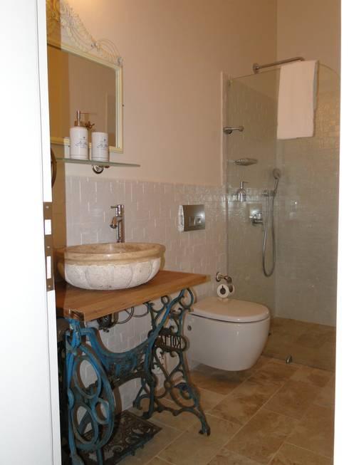 Tuncer Sezgin İç Mimarlık – Yu-Ga Otel:  tarz Banyo