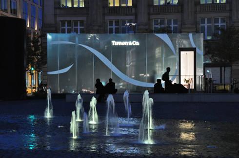 Verkaufspavillon f r tiffany co auf dem rathenauplatz for Leson innenarchitektur x objektmanagement