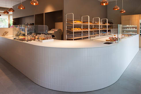 De Broodnatie – Berchem (Antwerpen):  Gastronomie door PUUR interieurarchitecten