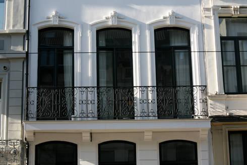 Project inrichting Herenhuis Antwerpen: klasieke Huizen door Antequercus