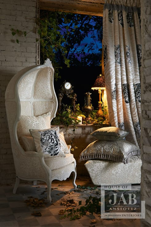 JAB Grandezza Vol.9 Collection Spring 2015:  Woonkamer door House of JAB by Verstappen Interiors
