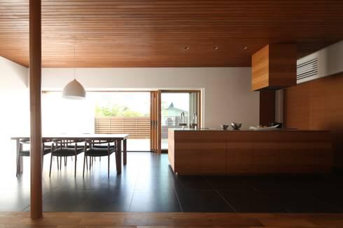 中山町の家: 深山知子一級建築士事務所・アトリエレトノが手掛けたダイニングです。