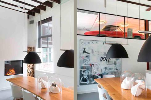 www.filipmens.nl: moderne Keuken door Architectenbureau Filip Mens