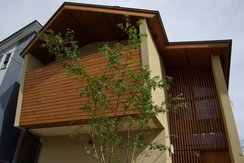 新・鎌・家: 環境創作室杉が手掛けた家です。