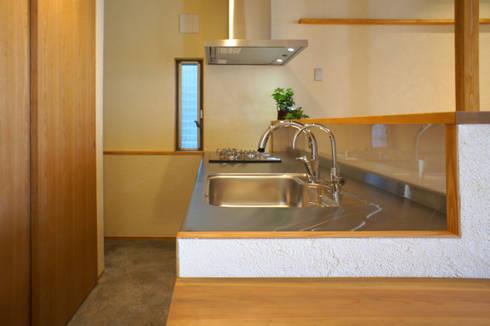新・鎌・家: 環境創作室杉が手掛けたキッチンです。