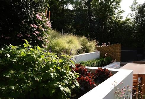 Raised Beds: modern Garden by Katherine Roper Landscape & Garden Design