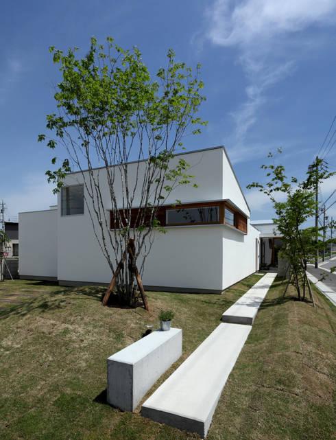 松原建築計画 / Matsubara Architect Design Office: iskandinav tarz tarz Evler