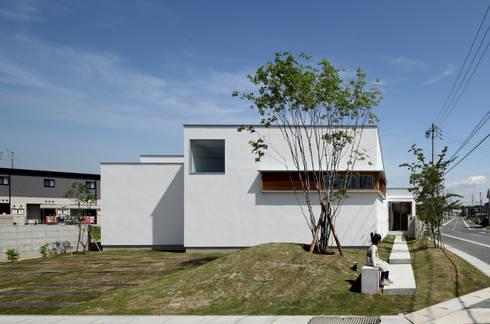 ファサード: 松原建築計画 / Matsubara Architect Design Officeが手掛けた家です。