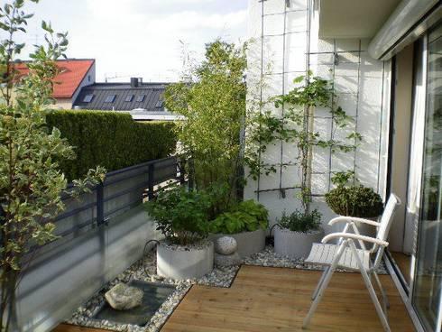 Dachterrassengestaltung  Dachterrassengestaltung München-Glockenbachviertel von Blumen ...
