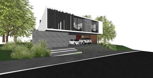 Casa OK: Casas modernas por ZAAV Arquitetura