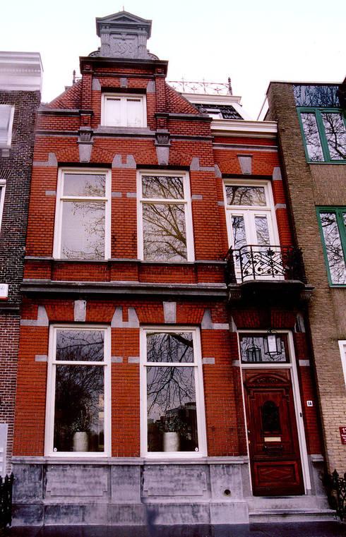 De voorgevel: klasieke Huizen door ABC-Idee