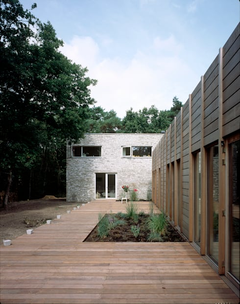 Projekty,  Domy zaprojektowane przez paul seuntjens architectuur en interieur