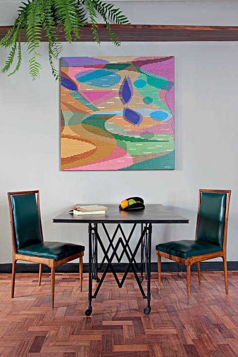 Apartamento Facundo Guerra: Salas de jantar modernas por MM18 Arquitetura
