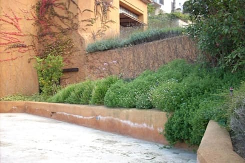 Jard n del faro costa brava de ab paisatgistes sl homify for Faros para jardin