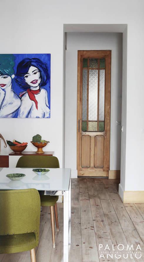 غرفة السفرة تنفيذ Interiorismo Paloma Angulo