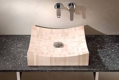 Piet Mondriaan : moderne Badkamer door Van Wijk Dutch Design