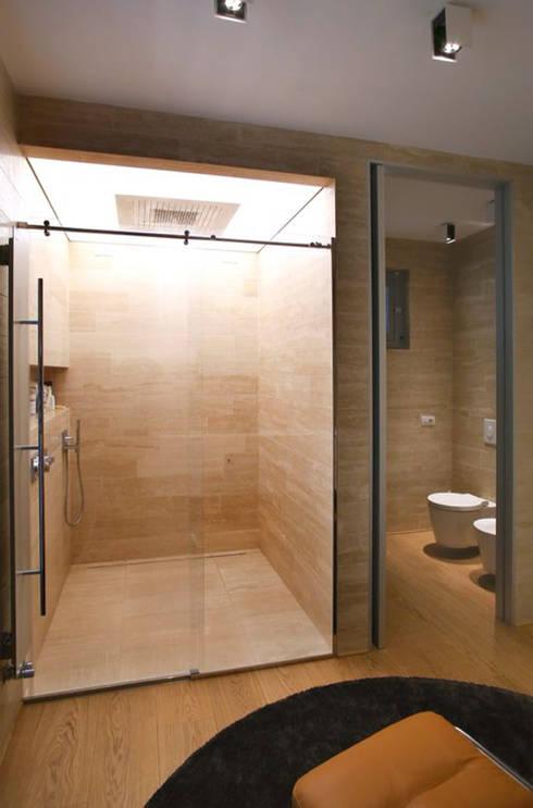 Casa AC: Bagno in stile  di davide prandin / architetto