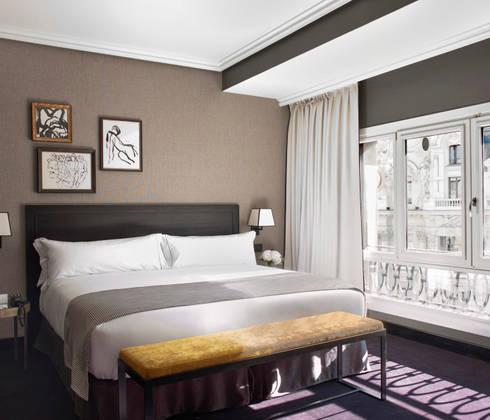 Dormitorio: Dormitorios de estilo industrial de LUZIO