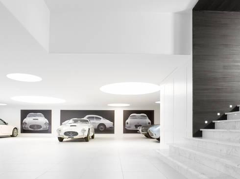 Knokke : moderne Garage/schuur door ligne V