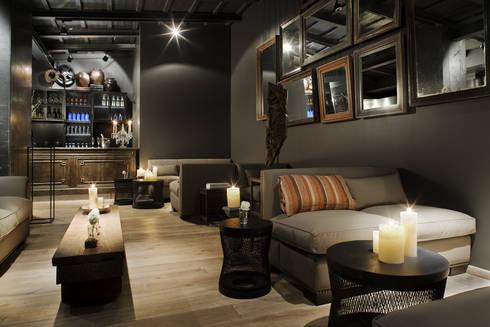 Hotel Pulitzer Paris ****: Comedor de estilo  de LUZIO