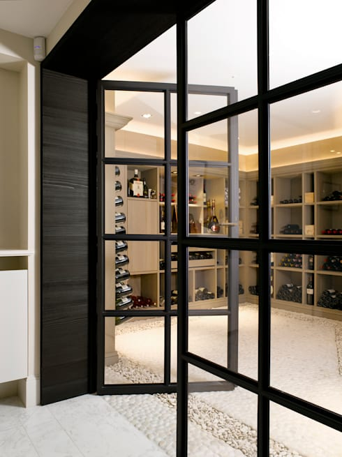 Knokke :  Wijnkelder door ligne V