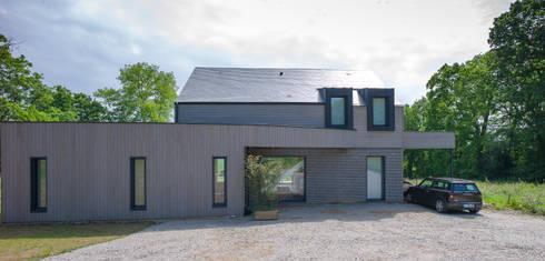 construction d 39 une maison bois en haute normandie par antoine laine architectures homify
