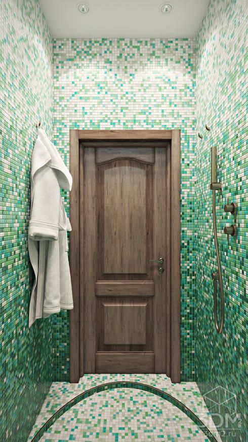 country Bathroom by студия визуализации и дизайна интерьера '3dm2'