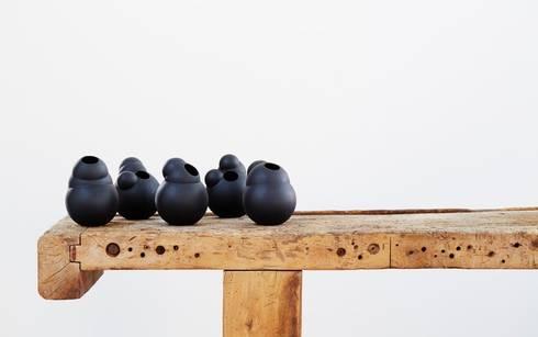 Part #4 - Vase black: scandinavische Woonkamer door Fou de Feu
