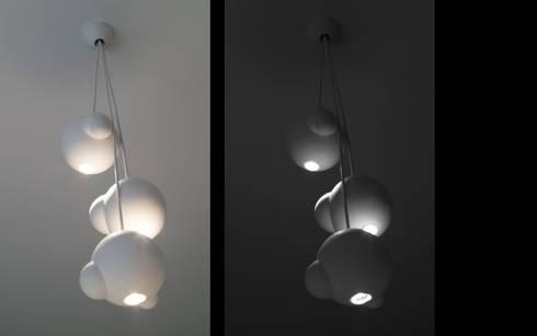 Part #3 – Light: scandinavische Eetkamer door Fou de Feu