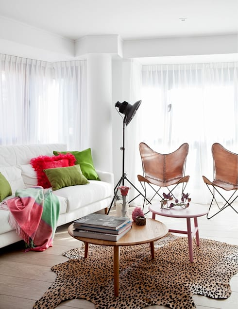 Salon de style de style Industriel par Disak Studio