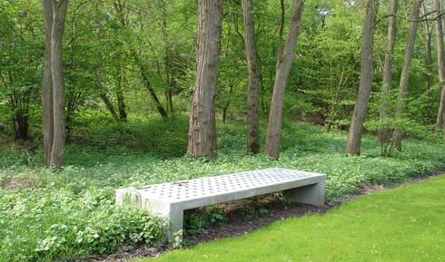 Begraafplaats Orthen:   door aksis landschapsarchitecten