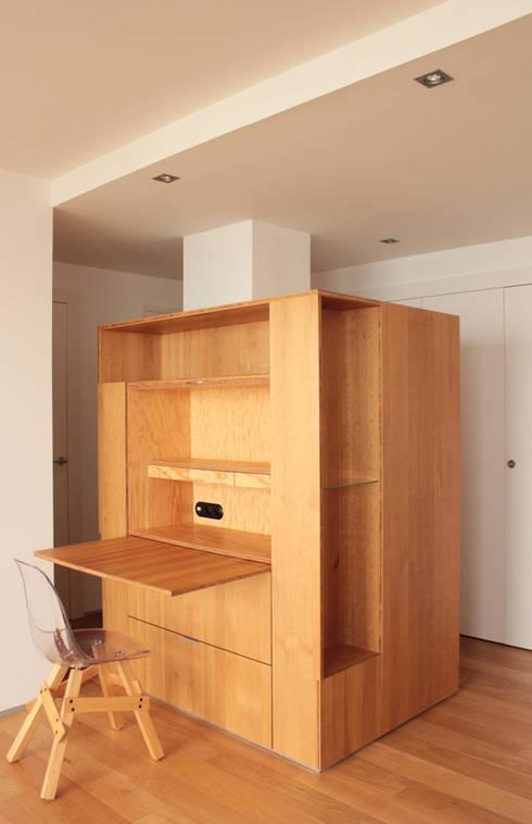 moderne Studeerkamer/kantoor door cambiums