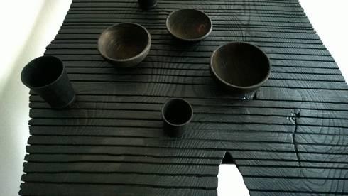'Après moi le déluge': moderne Eetkamer door MdSt