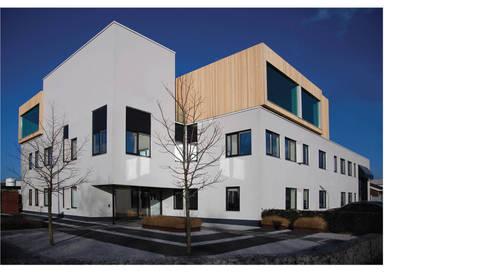 exterieur 01:  Kantoorgebouwen door atelier2architecten
