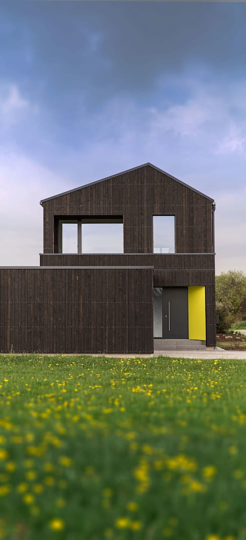 wohnhaus in bad gr nenbach von ku architekten homify. Black Bedroom Furniture Sets. Home Design Ideas
