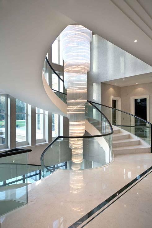 Project 7 Windlesham:  Corridor, hallway & stairs by Flairlight Designs Ltd
