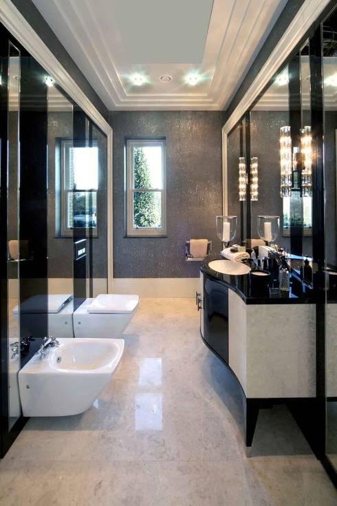 Project 7 Windlesham:  Bathroom by Flairlight Designs Ltd