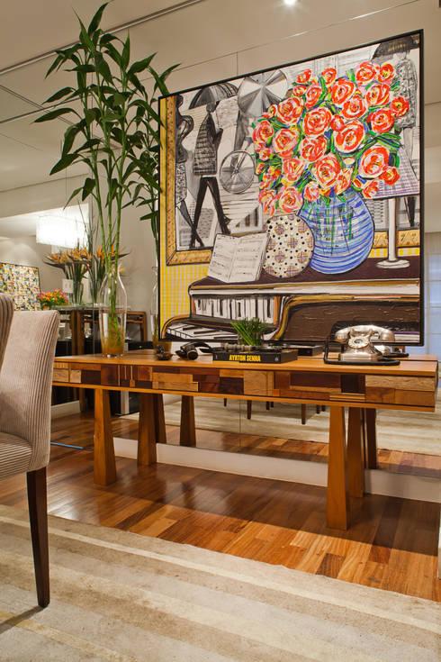 Столовые комнаты в . Автор – IE Arquitetura + Interiores