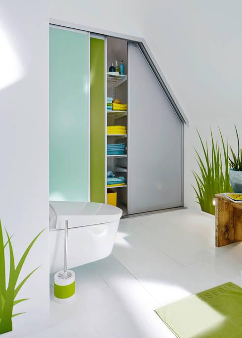 Mehr Ordnung im Bad:  Badezimmer von Elfa Deutschland GmbH