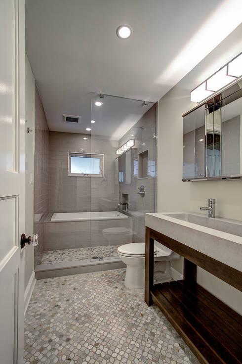 colonial Bathroom by Ben Herzog Architect